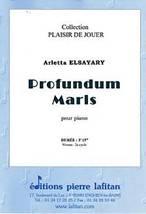 Arletta ELSAYARY : Profundum Maris pour piano