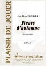 Jean-Pierre SEMERARO : Fleurs d'automne