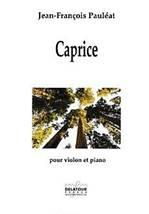 Jean-François PAULÉAT : Caprice pour violon et piano