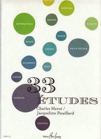 33 études pour piano
