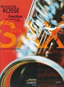Jonction, pour saxophone alto et piano