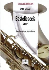Bastelicaccia 2007 pour saxophone alto et piano