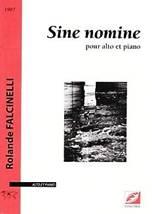 Rolande FALCINELLI : Sine nomine