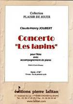 Claude-Henry JOUBERT : Concerto « Les lapins »