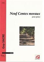 Guy SACRE : Neuf contes moraux pour piano