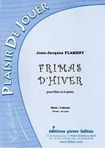 Jean-Jacques FLAMENT : Frimas d'hiver pour flûte ut et piano