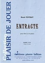 René POTRAT : Entracte pour flûte ut et piano