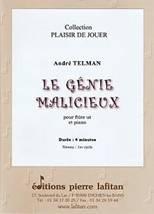 André TELMAN : Le génie malicieux pour flûte ut et piano