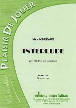 Interlude  pour flûte à bec soprano et piano