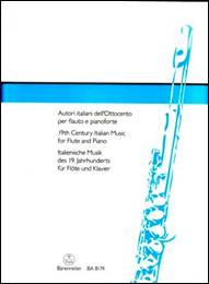 Autori italiani dell'Ottocento per flauto e pianoforte.