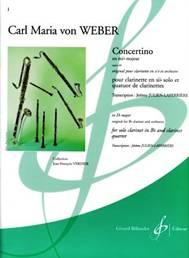 Carl Maria von WEBER : Concertino en mib majeur op.26.