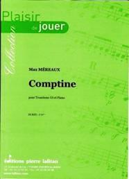 Comptine pour trombone en ut & piano