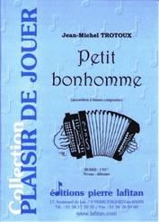 Petit bonhomme, pour accordéon à basses composées