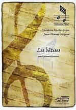 Christine MARTY-LEJON, Jean-Claude SOLDANO : Les bêtises pour piano 4 mains. Soldano : ES845. www.editions-soldano.fr