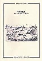Maurice JOURNEAU : Caprice pour basson et piano. Fortin-Armiane : EFA73.