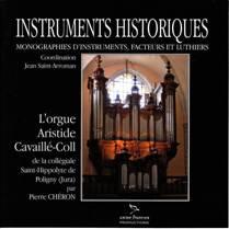L'orgue Aristide Cavaillé-Coll de la collégiale Saint-Hippolyte de Poligny (Jura)