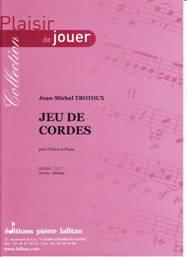 Jeu de cordes pour violon & piano