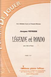 Légende et Rondo pour alto & piano