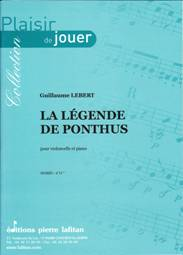 La légende de Ponthus pour violoncelle & piano.