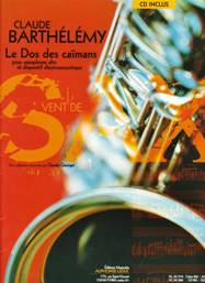Le dos des caïmans pour saxophone alto & dispositif électroacoustique.