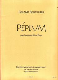 Péplum pour saxophone alto & piano
