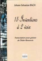 15 Inventions à deux voix