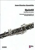 Jean-Charles GANDRILLE : Quintil pour clarinette