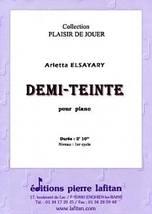 Arletta ELSAYARY : Demi-teinte pour piano.
