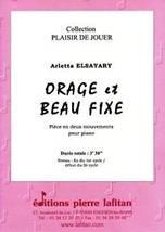 Arletta ELSAYARY : Orage et Beau Fixe.