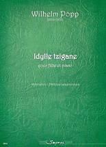 Wilhelm POPP (1828 – 1903) : Idylle tzigane pour flûte et piano. Restitution Philippe Lesgourgues. 2ème cycle. Sempre più : SP0124.