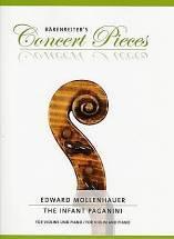 Edward MOLLENHAUSER : The infant paganini  pour violon et piano. Premier cycle. Bärenreiter : BA10691.