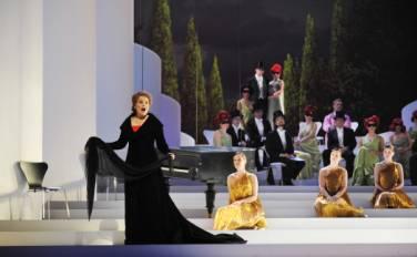 Une glorieuse Ariadne auf Naxos  à Baden-Baden