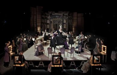 L'opéra parodié ou la parodie à l'Opéra