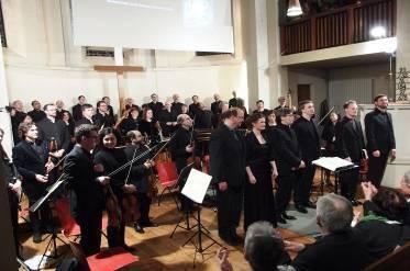 La Johannes-Passion par le Chœur de chambre Les Temperamens Variations