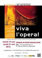 Viva l'Opéra au Cirque d'Hiver!
