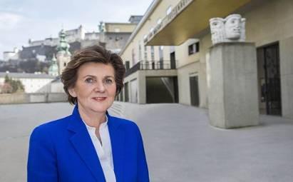 Helga Rabl-Stadler, Présidente  du Festival de Salzbourg