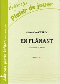 En flânant pour hautbois & piano.
