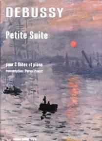 DEBUSSY : Petite suite pour deux flûtes & piano.