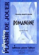Romancine pour flûte en ut & piano
