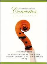 Friedrich SEITZ : Schülerkonzert n°2 en sol majeur op.13.