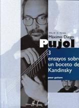 Máximo Diego PUJOL : Tres ensayos sobre un boceto de Kandinsky