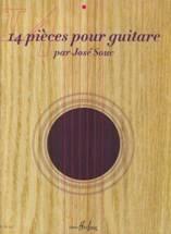 José SOUC : 14 pièces pour guitare