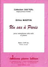 Gilles MARTIN : Un sax à Paris