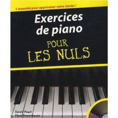 David PEARL & Marc ROZENBAUM : Exercices de piano pour les Nuls