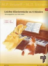 Julia SUSLIN (Compilées par) : Pièces pour piano à quatre mains