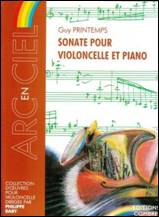 Guy PRINTEMPS : Sonate pour violoncelle & piano