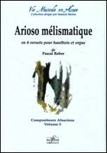 Pascal REBER : Arioso mélismatique
