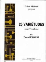 Pascal PROUST : 25 Variétudes