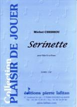 Serinette pour flûte en ut & piano.