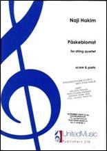 Påskeblomst, pour quatuor à cordes.